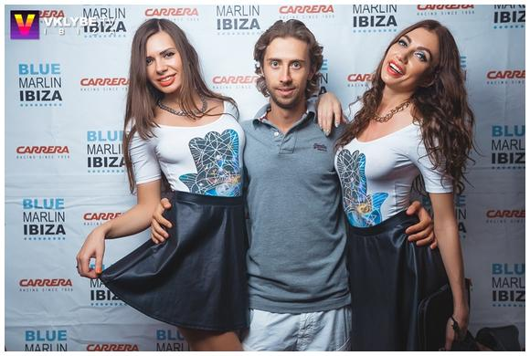Duo Diamonds in Ibiza at Blue Marlin | First Ukrainian DJs in Ibiza | I am vibes